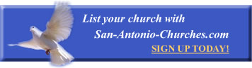Sign up with San Antonio Churches